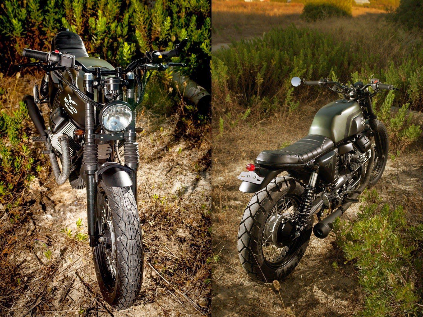 2008 Moto Guzzi V-7 TWIN | Macco Motors Mr. Green