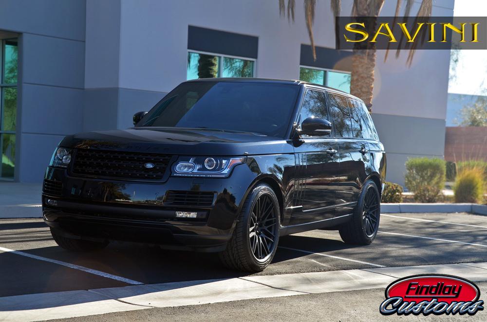 2013 Land Rover Range Rover | '13 Range Rover on Savini BM4's