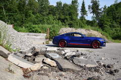 Ford Mustang GT - Side View