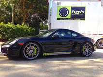 Daytona Special Porsche Cayman on GA1R Wheels