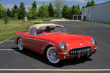 1954 Chevrolet Corvette | 1954 Chevrolet Corvette - Profile