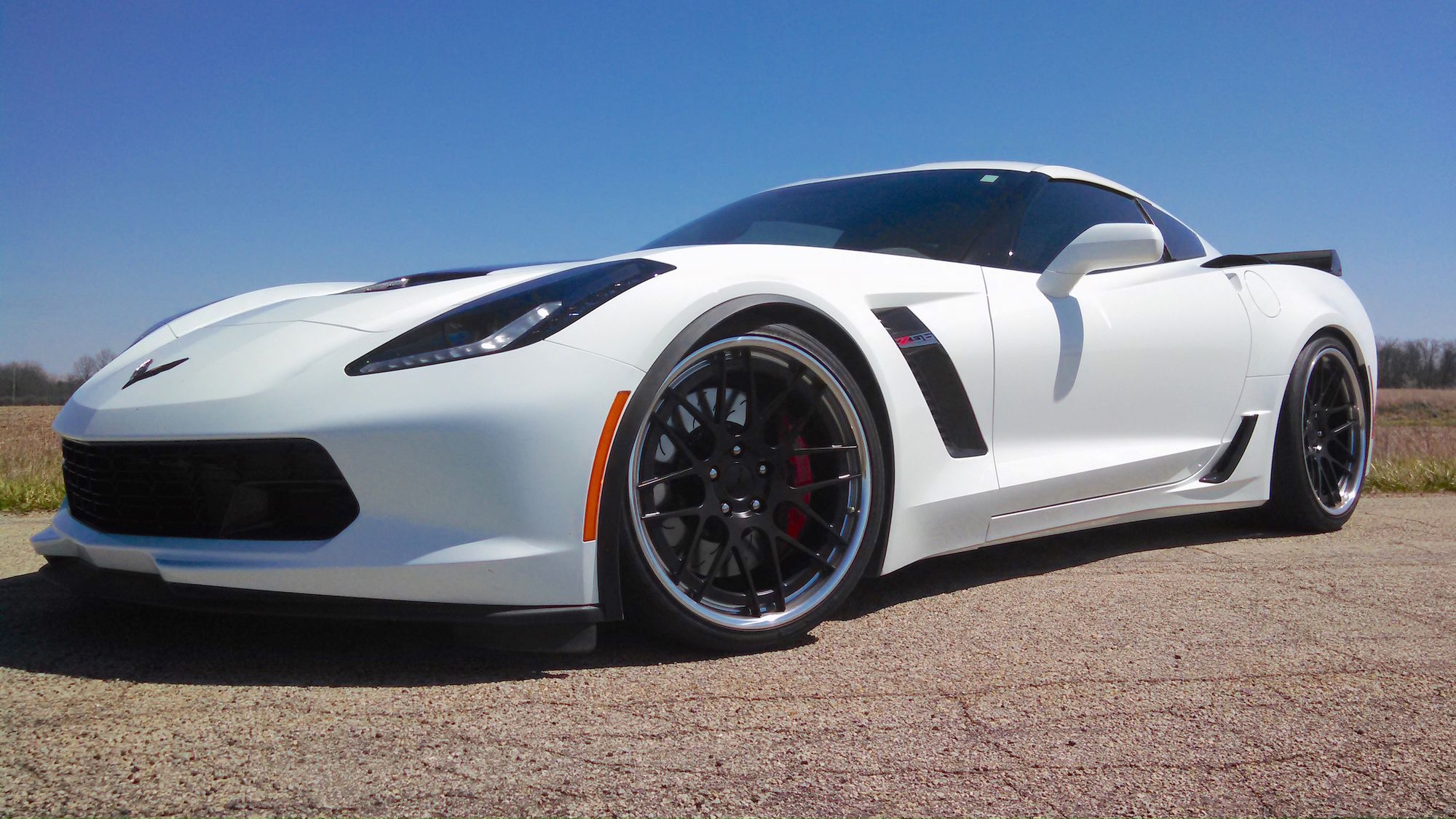 2016 Chevrolet Corvette Z06 | Randy Trott's C7 Corvette Z06 on Forgeline DE3C-SL Concave Stepped Lip Wheels