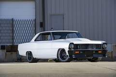 Gerald Goad's 1400HP 1966 Chevy Nova on Forgeline RB3C Wheels