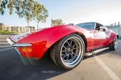 Cris G's JCG Restoration & Customs C3 Corvette Stingray on Forgeline GA3R Wheels