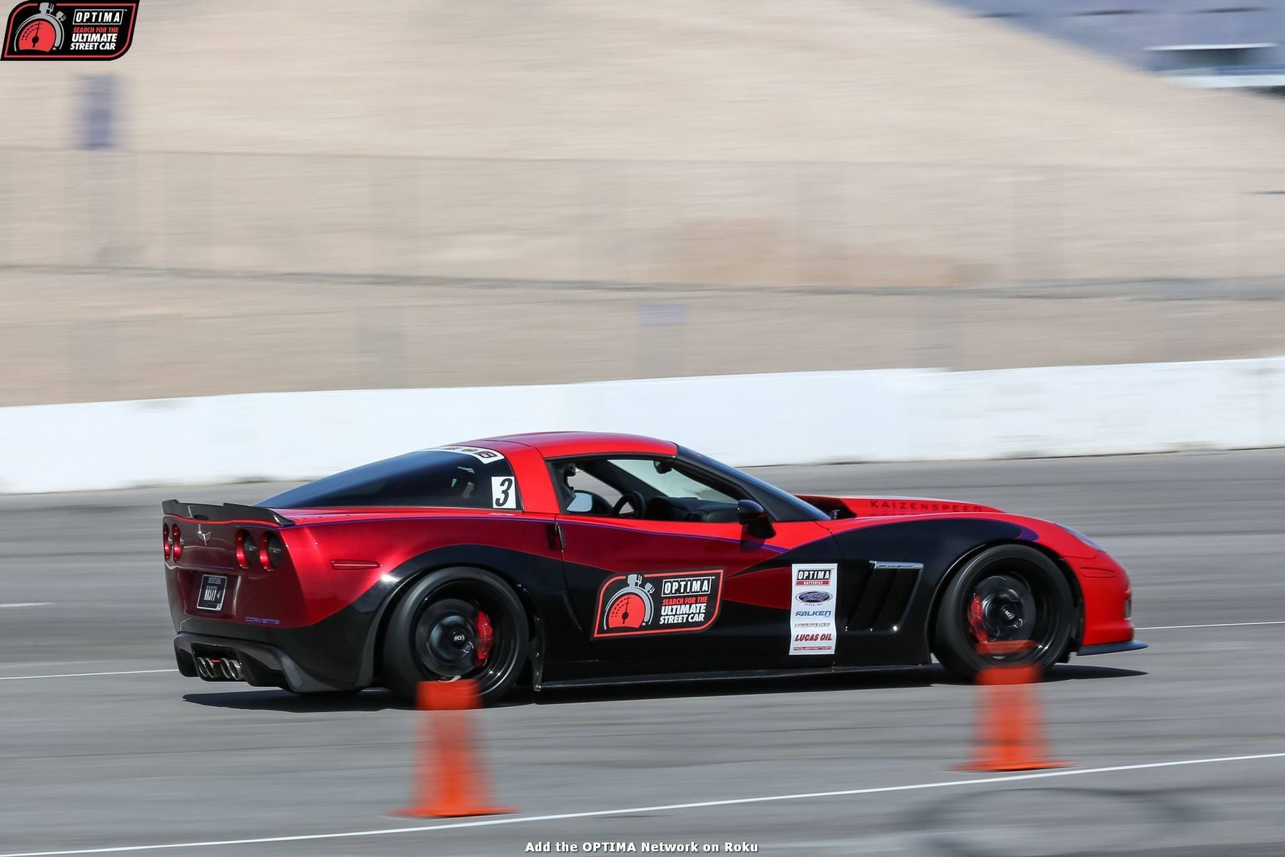 2012 Chevrolet Corvette | Glen Barnhouse Wins GTS Class at USCA Vegas with C6 Corvette Grand Sport on Forgeline DS3 Wheels