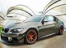 Chris Hill's BMW E92 M3 on Transparent Copper Forgeline VX3C Concave Wheels