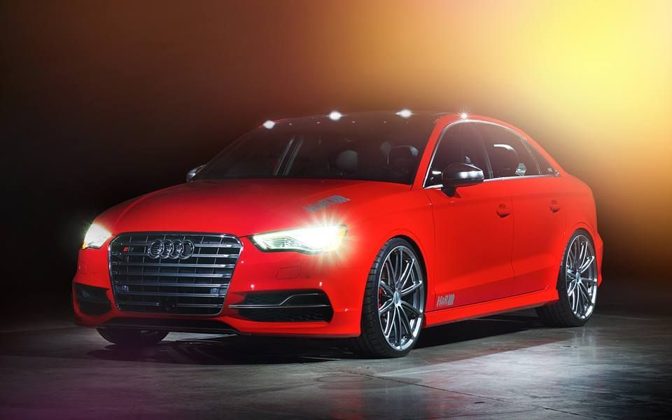 2015 Audi S3 | H&R's 2015 Audi S3 on Forgeline One Piece Forged Monoblock GT1 5-Lug Wheels