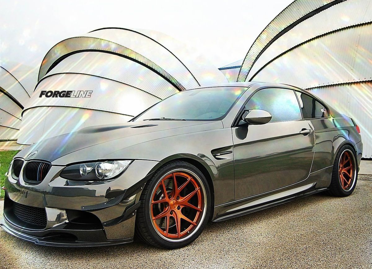 2010 BMW M3 | Chris Hill's BMW E92 M3 on Transparent Copper Forgeline VX3C Concave Wheels