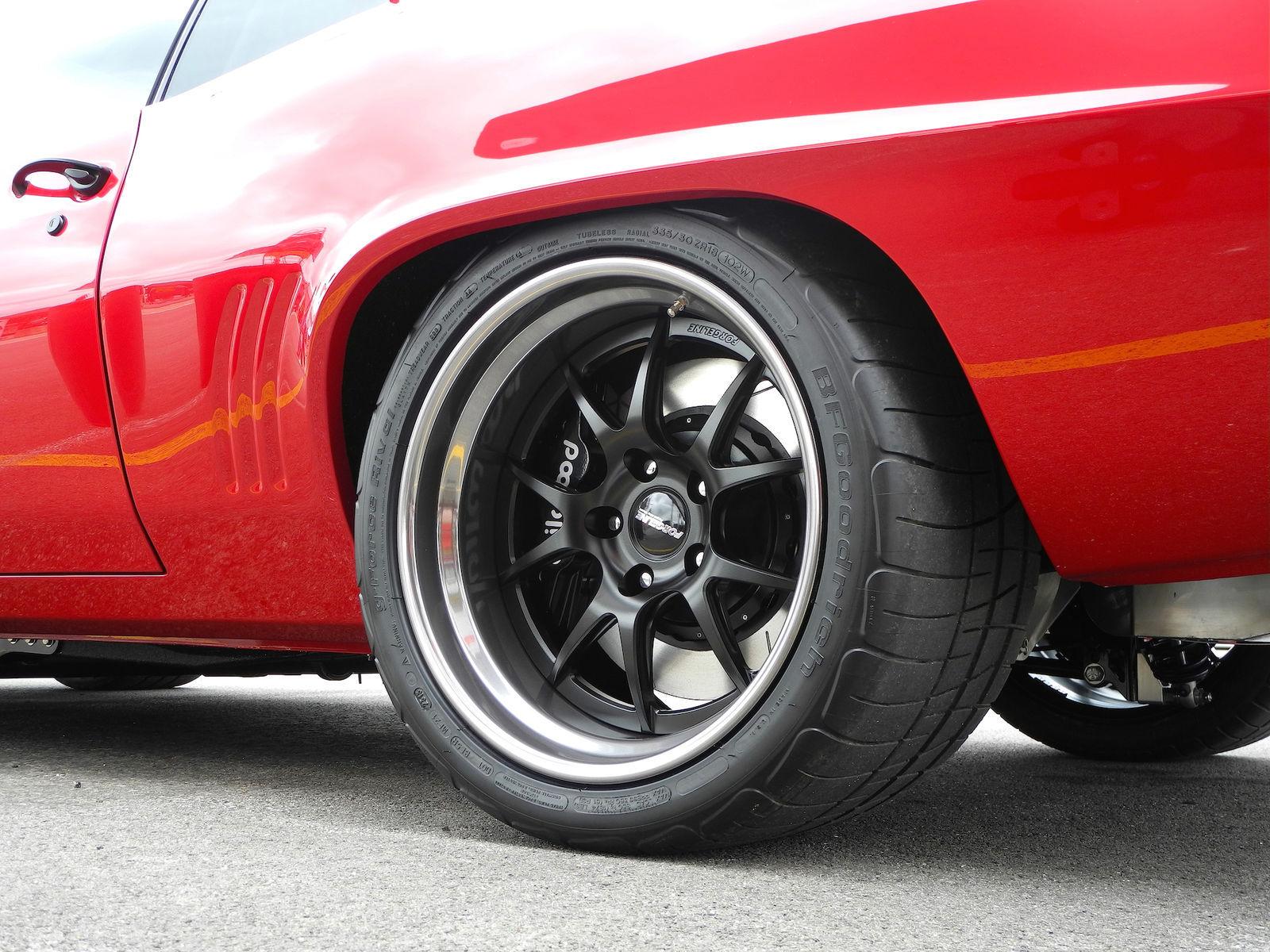 1969 Chevrolet Camaro | Randy Maynard's '69 Camaro on Forgeline GA3 Wheels at Goodguys Columbus