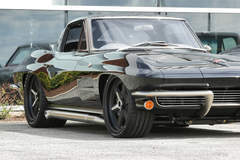 Mark's Roadster Shop '63 Corvette on Center Locking Forgeline RS6 Wheels