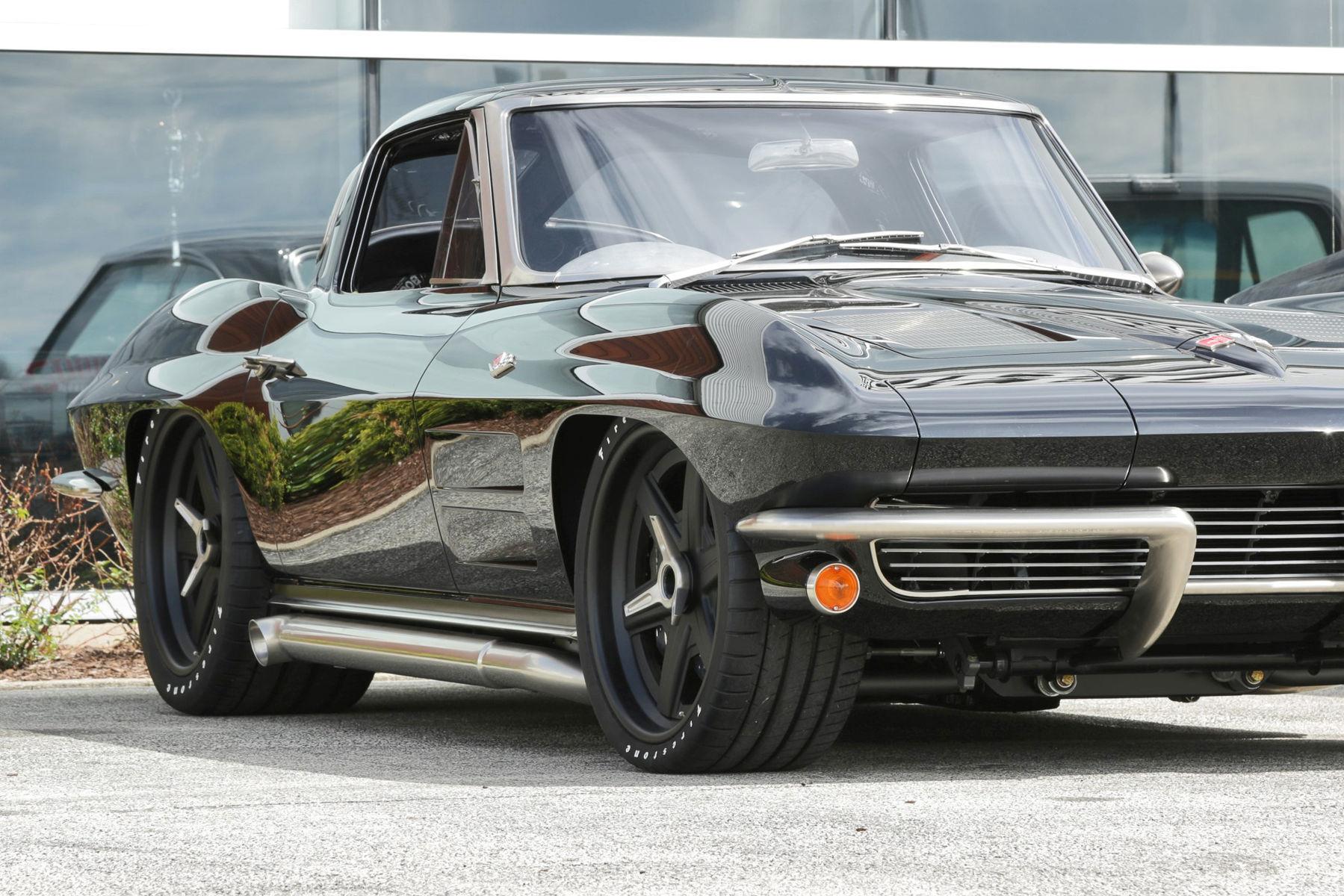 1963 Chevrolet Corvette Stingray | Mark's Roadster Shop '63 Corvette on Center Locking Forgeline RS6 Wheels