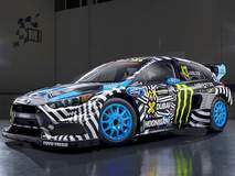 Ken Block's Hoonigan Focus RS RX for Gymkhana 9