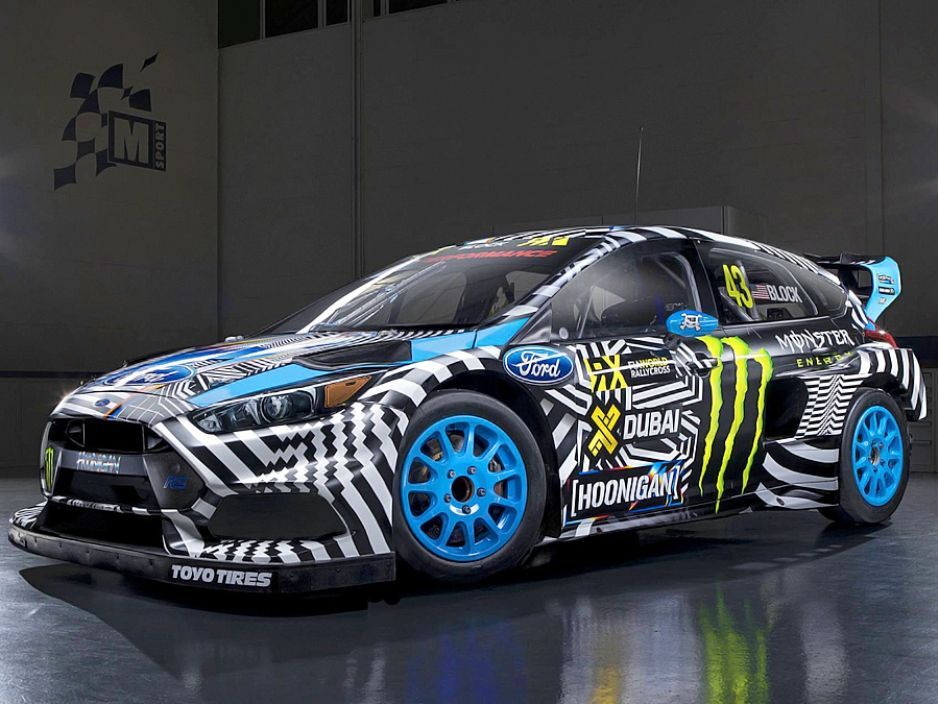 2016 Ford Focus RS | Ken Block's Hoonigan Focus RS RX for Gymkhana 9