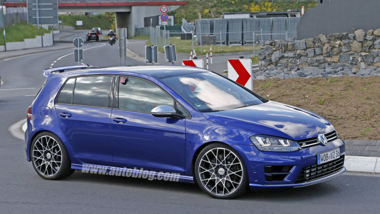 2017 Volkswagen Golf R | Golf R 400 Caught Testing