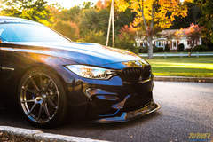 Turner Motorsport's BMW F82 M4 on Forgeline One Piece Forged Monoblock GA1R Wheels