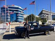 Derek Brown Wins Autocross Truck Class at Goodguys Charlotte with '67 Ford F100 on Forgeline GX3P Wheels