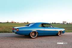 Roadster Shop's '67 Big Block Chevelle on Forgeline RB3C Concave Wheels