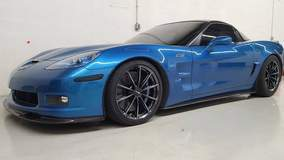 Corvette ZR1/3ZR on Forgeline GT1 5-Lug Wheels - Front Side Photo