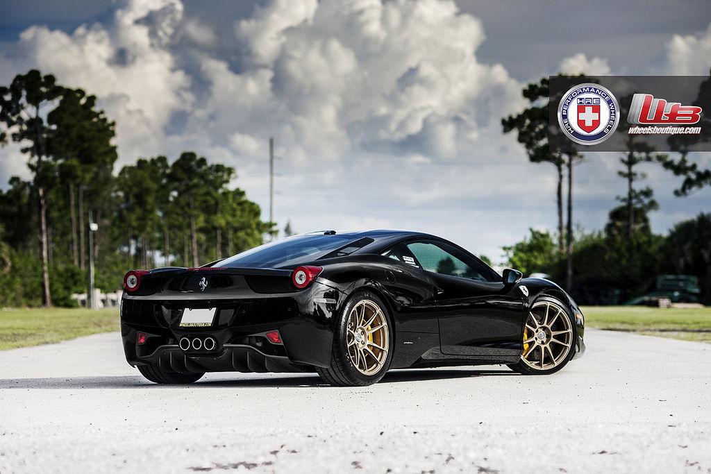 Ferrari 458 Italia   Ferrari 458 Italia on HRE P44SC