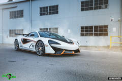 Park Place McLaren 570S on Forgeline One Piece Forged Monoblock GT1 Wheels