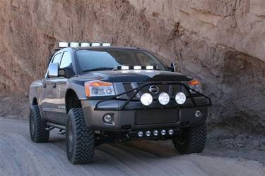 2009 Nissan Titan | Titan Getting ready to enter the Cave