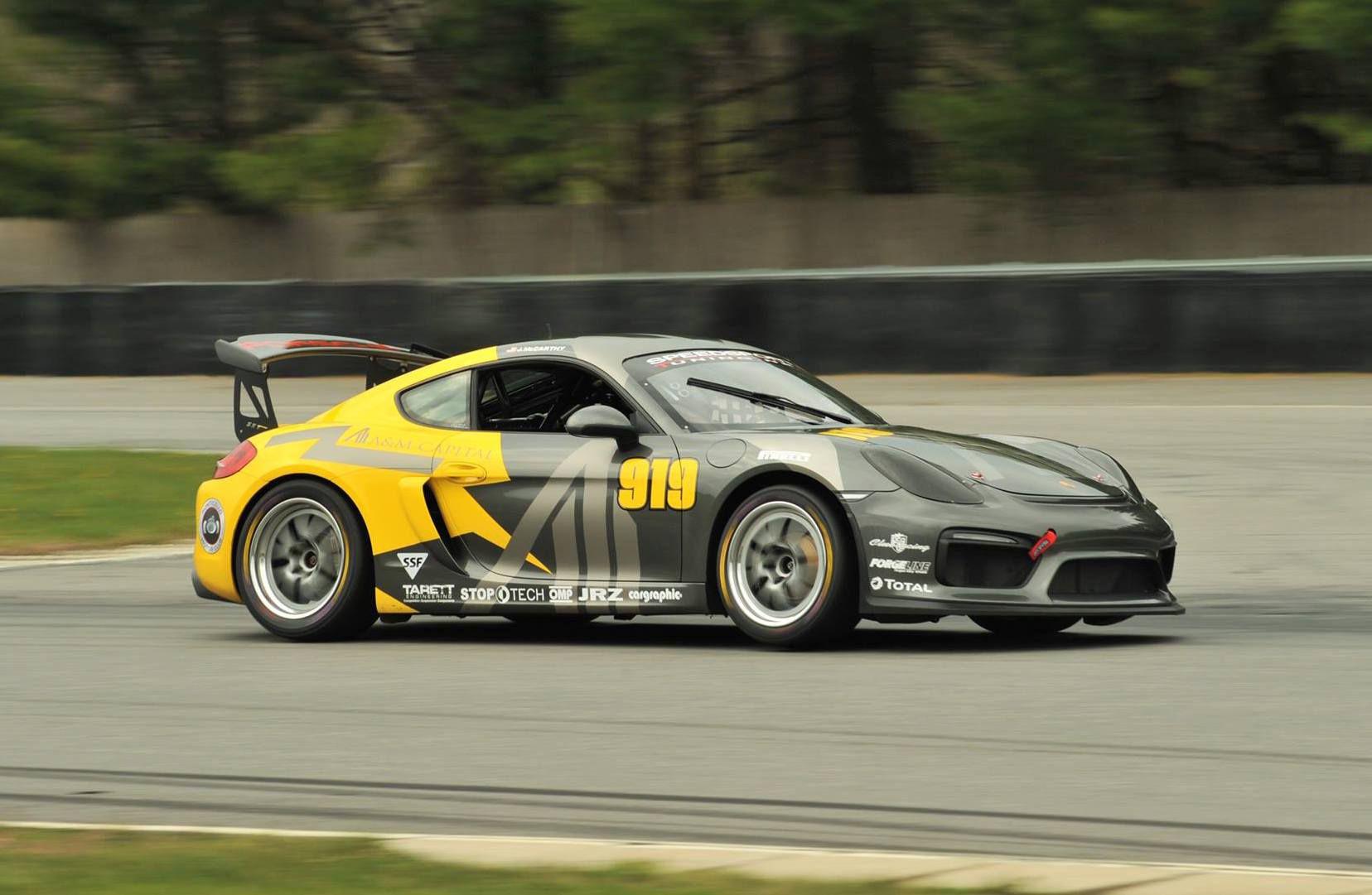 2016 Porsche Cayman | Jack McCarthy's SpeedSport Tuning PCA Porsche Cayman on Forgeline GA3R Wheels