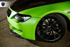 Green BMW 6 Series - Front Wheel