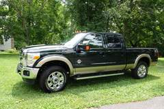 Ford Superduty with Fuelbox Combo