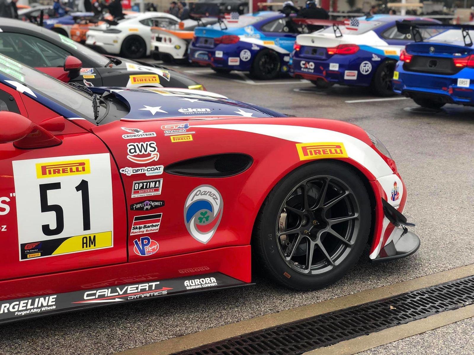 2019 Panoz  | Panoz Double Podium at Grand Prix Long Beach