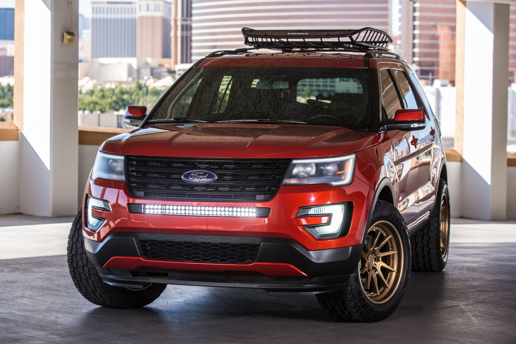 2015 Ford Explorer Sport | 2015 All Star Ford Explorer Sport - Front Pro Shot