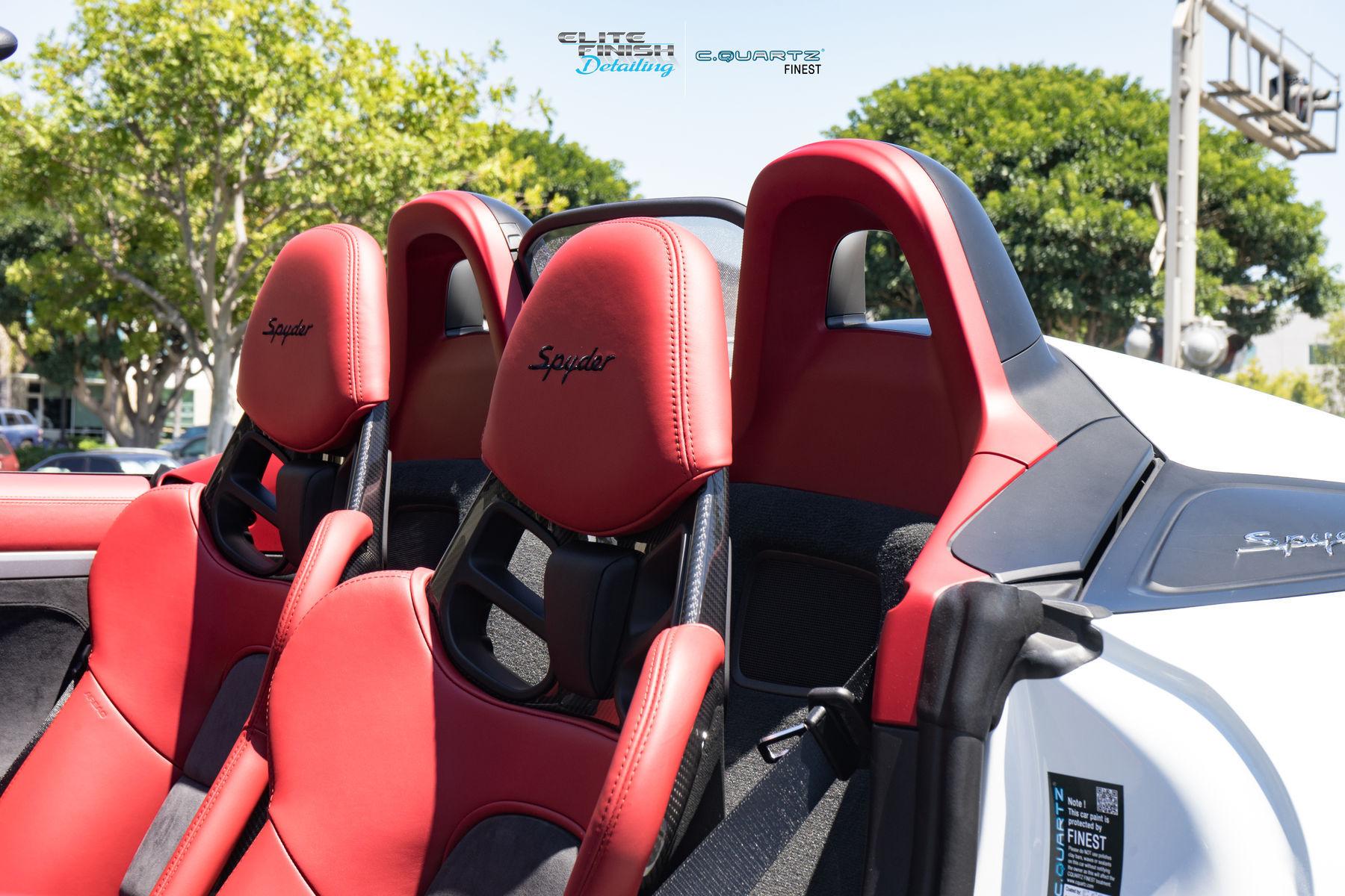 2017 Porsche Boxster   Porsche Boxster Spyder