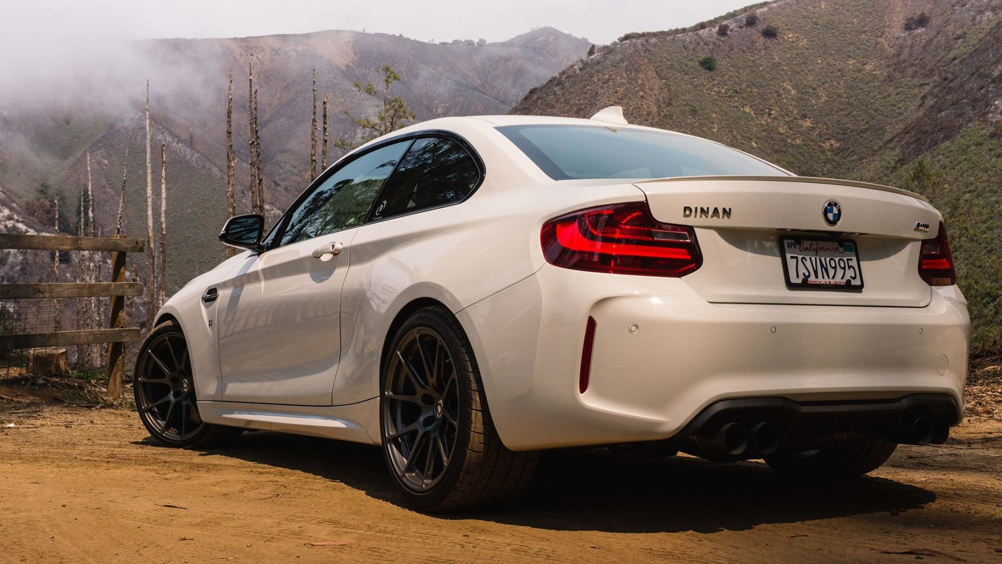 2016 BMW M2 | Dinan Engineering's BMW F87 S1 M2 on Forgeline One Piece Forged Monoblock GA1R Wheels - Rear Shot
