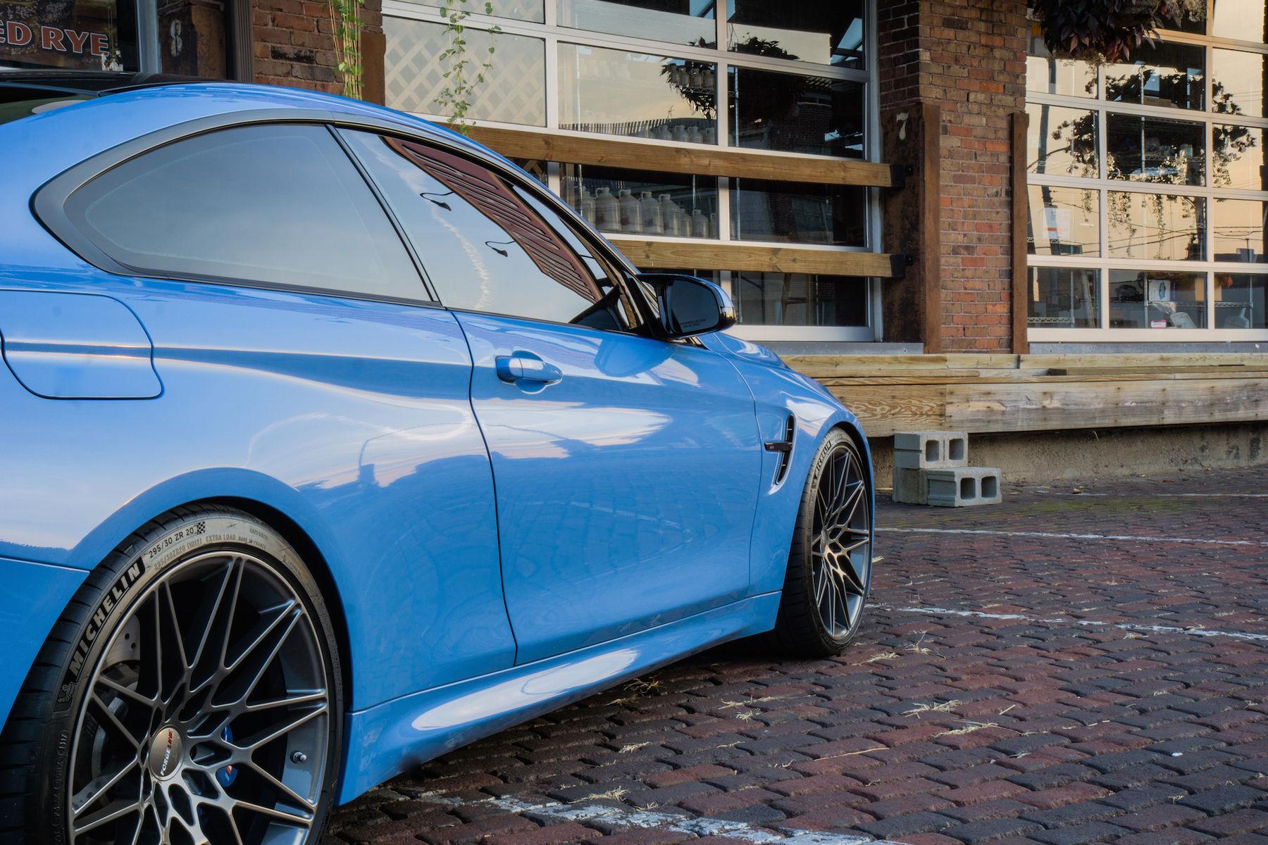 2017 BMW M4 | Travis Collette's F82 BMW M4 on Forgeline One Piece Forged Monoblock MT1 Wheels