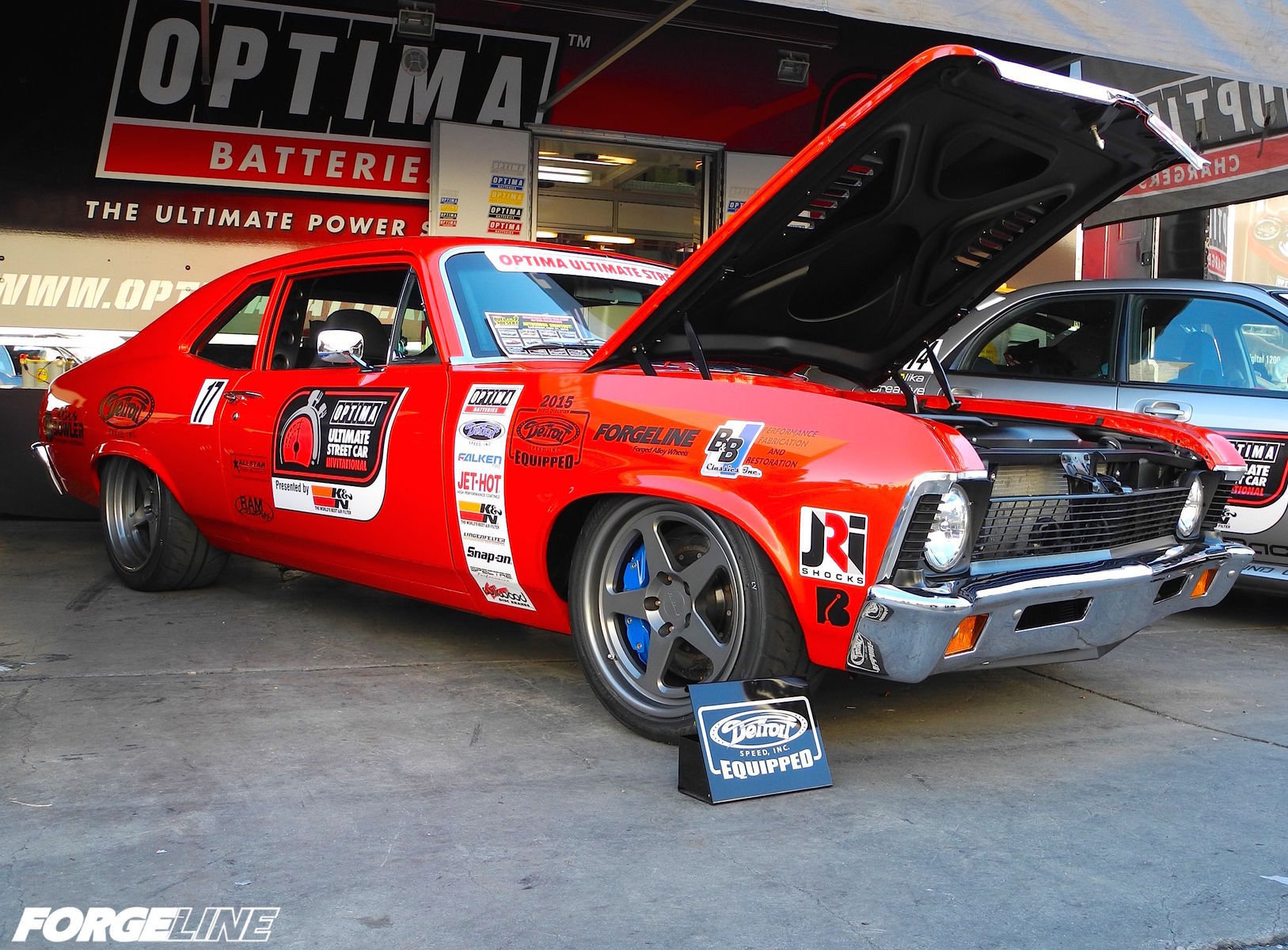 1972 Chevrolet Nova | Billy Utley's B&B Classics Inc.-built '72 Nova on Forgeline FF3 Wheels