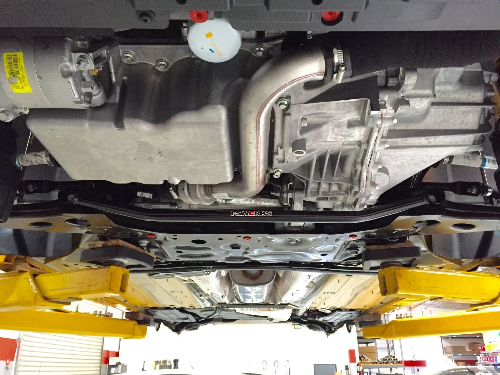 2015 Ford Focus ST | 2015 Focus ST by FSWerks - Undercarriage