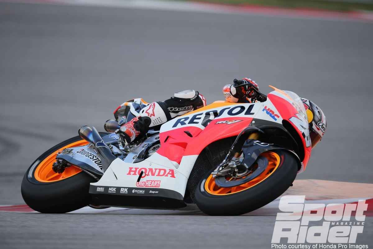 2014   | Pedrosa laying down laps at Argentina