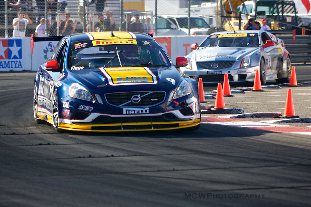 2013 Volvo S60   K-Pax 2013 S60 R-Design at Long Beach Grand Prix