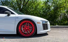 White Audi R8 V10 - ADV05 M.V2 CS