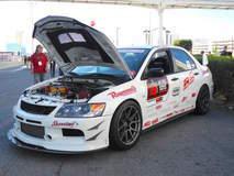 Showtime Motorsports Evo on Forgeline GA1R Open Lug Wheels