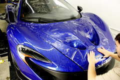 McLaren P1 with XPEL ULTIMATE self-healing paint protection film