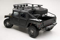 RCH Designs Custom Built Hummer H1 - View From Up Top