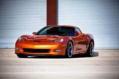 Corvette Z06 on Forgeline CF3C Wheels
