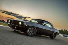 Tommy Franklin's Detroit Speed '69 Camaro on Forgeline Dropkick Wheels