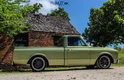 Josh Kimich's 1967 Chevy C10 on Forgeline ZX3S Wheels