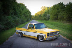 "Level 7 Motorsports Chevy C10 on Forgeline GA3 Wheels Featured at ""Fuel Curve"""