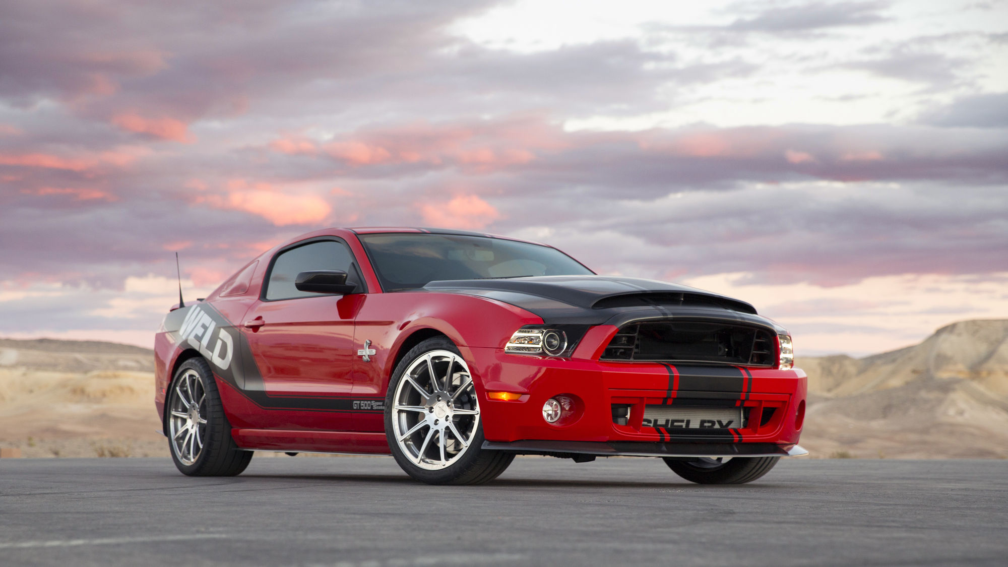 2014 Ford Shelby GT500   2014 Shelby GT500 Super Snake WELD Edition
