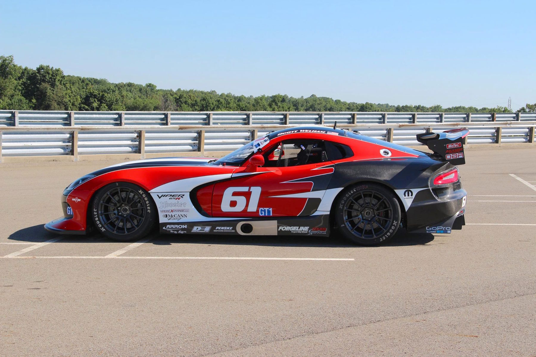 2014 Dodge Viper | McCann G5R Viper on Forgeline GTD1 Wheels