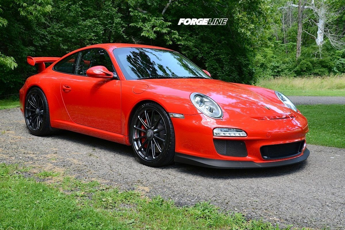 2010 Porsche 911 | Alan Coleman's Porsche GT3 on Forgeline One Piece Forged Monoblock Center Locking Wheels