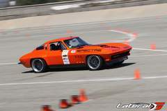 Greg Thurmond Wins Classic Muscle Class at NMCA West Autocross in his '65 SCAR Corvette on Forgeline DE3C Concave Wheels