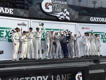 2015 Rolex 24 at Daytona GTD Class Podium